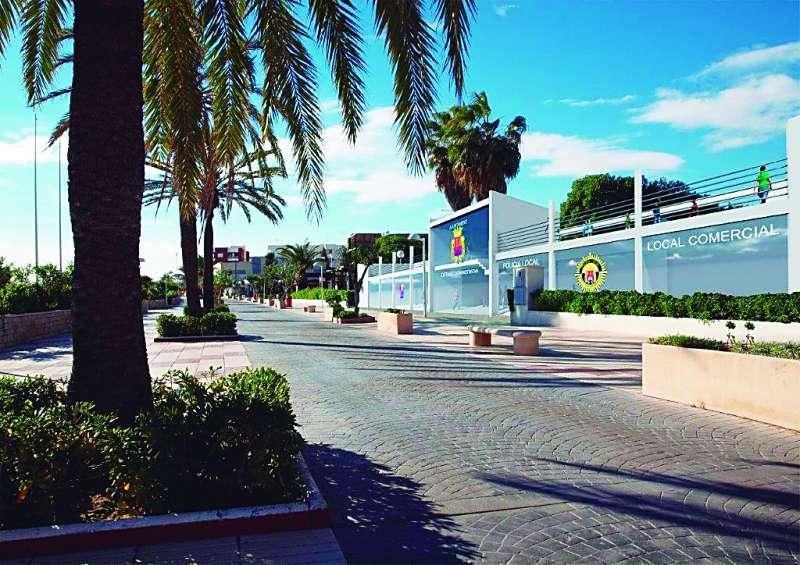 Imagen virtual del edificio administrativo. EPDA