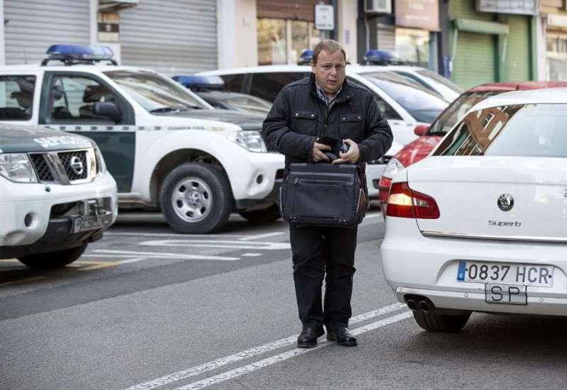 El exportavoz del grupo socialista en la Diputación de Valencia, José Manuel Orengo, en una imagen de archivo. EFE/Manuel Bruque