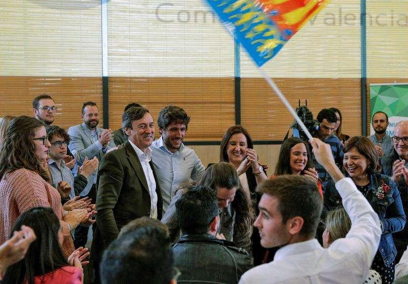 Bonig con Catalá en un acto del PP. EFE