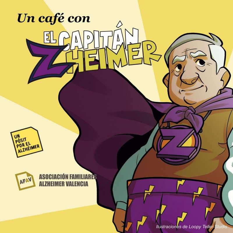 Cartel Un café con el Capitán Zheimer