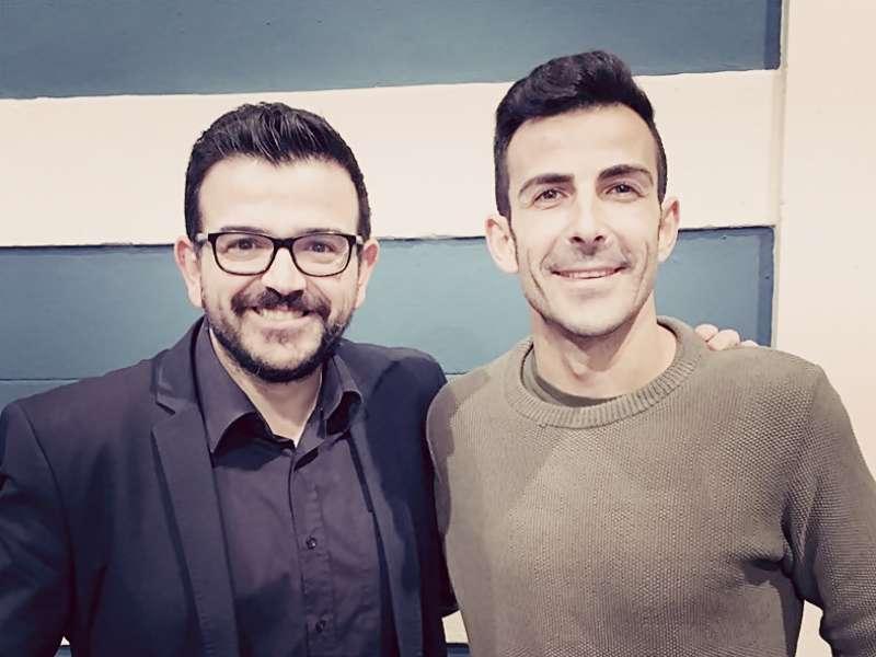 Jaime López Bronchud y Toni Sanabria