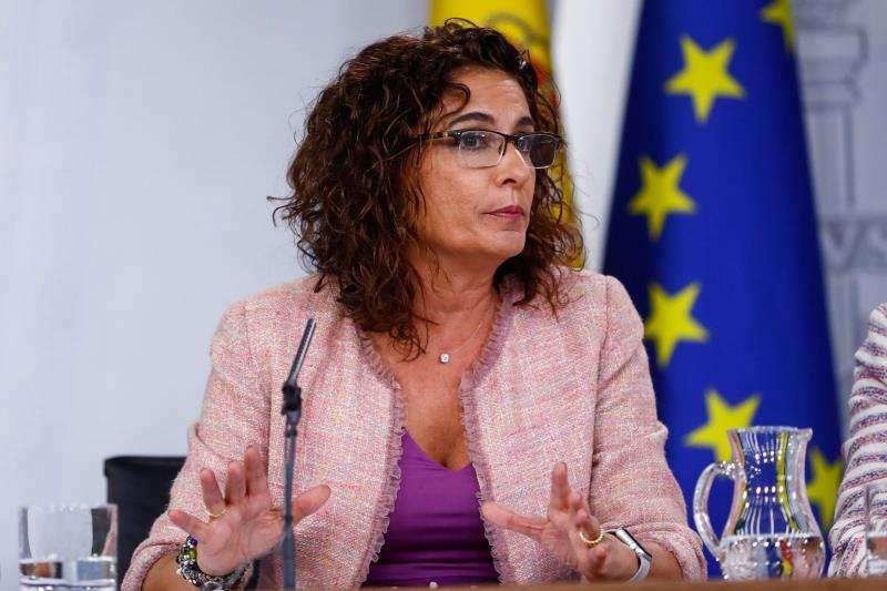 La ministra de Hacienda, María Jesús Montero. EFE/Archivo
