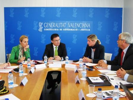 El conseller de Gobernación y Justicia, Serafín Castellano. Foto EPDA