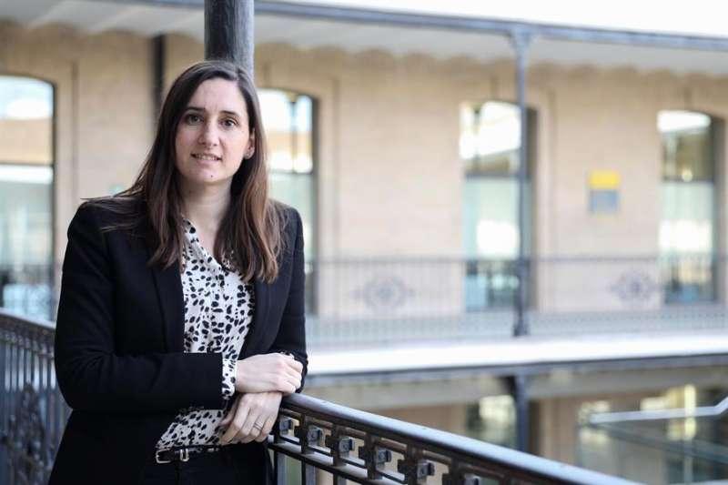La presidenta de la comisión que investiga el fraude de 4 millones de euros sufridos en la Empresa Municipal de Transportes (EMT) de València. EFE/Ana Escobar