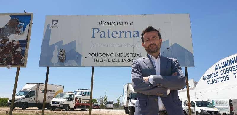 Candidato de Vox Paterna, Joaquín Alés