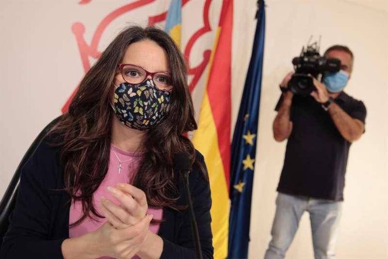La vicepresidenta y portavoz del Consell, Mónica Oltra. EFE