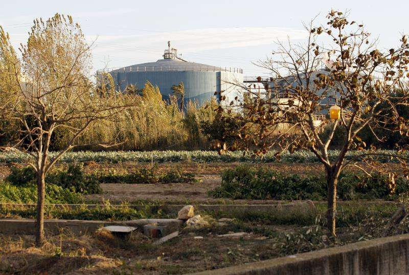 Imagen de la depuradora valenciana de Pinedo. EFE/Archivo
