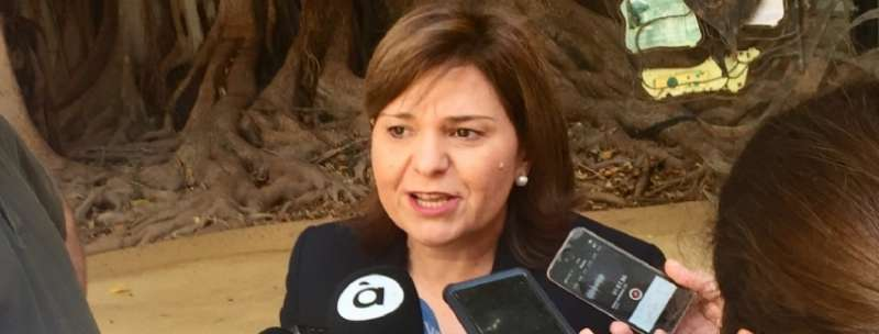 La síndica del Grupo Popular de la Comunitat Valenciana (PPCV), Isabel Bonig.