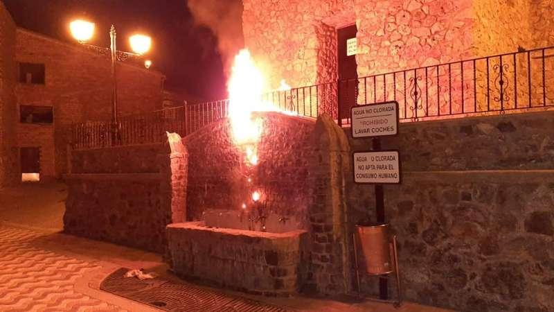 El incendio alertó al vecindario