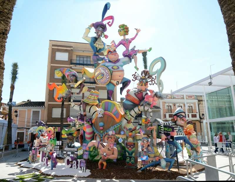 Falla Plaça Cervantes