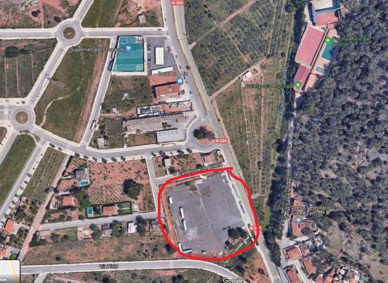 Zona de construcció. EPDA