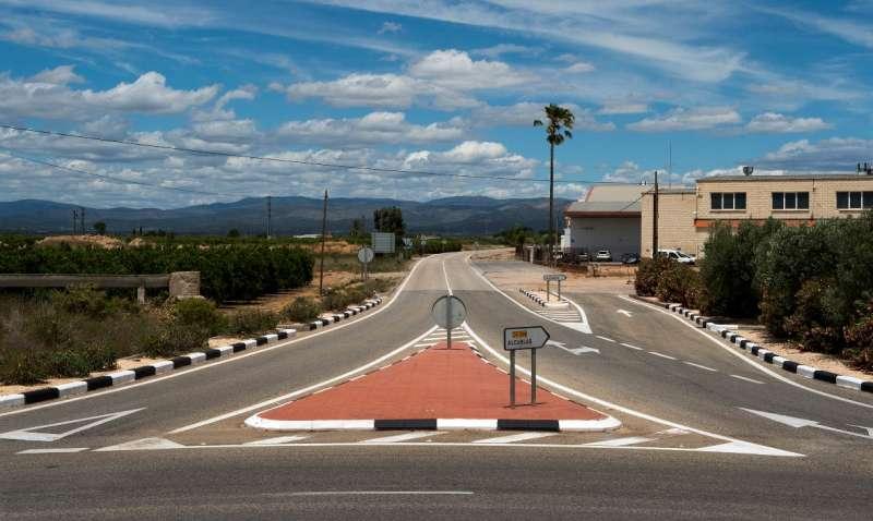 Carretera CV-339 de Llíria a Alcublas. / EPDA