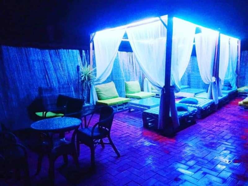 Terraza del Restaurante Viu Catarroja. EPDA