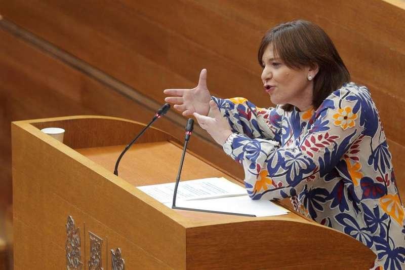 La presidenta del PPCV y portavoz del PP en Les Corts, Isabel Bonig. EFE/Kai Försterling/Archivo