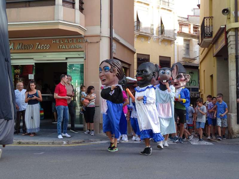 Fiesta de Gigantes y Cabezudos