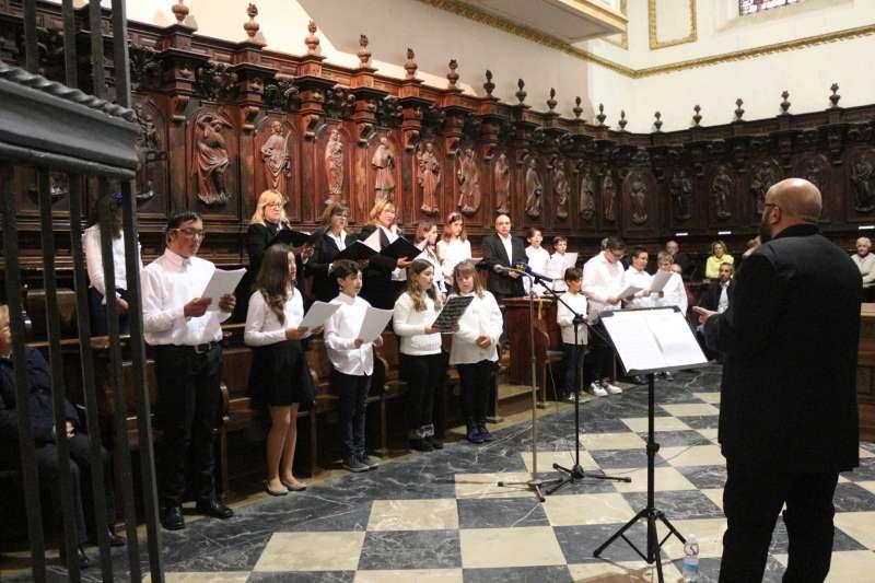 El coro de la Catedral acogió la audición