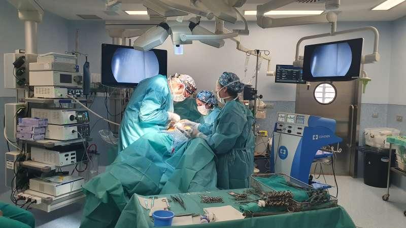 Imagen del quirófano del Hospital Provincial de Castellón. -EPDA