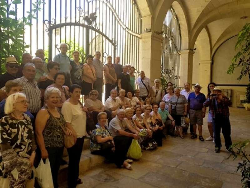 Participantes en el viaje. EPDA