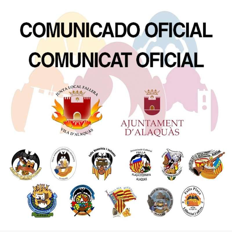 Comunicado oficial. EPDA