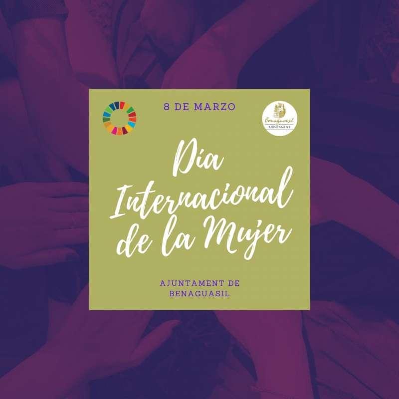 Cartel del Día de la Mujer. / EPDA
