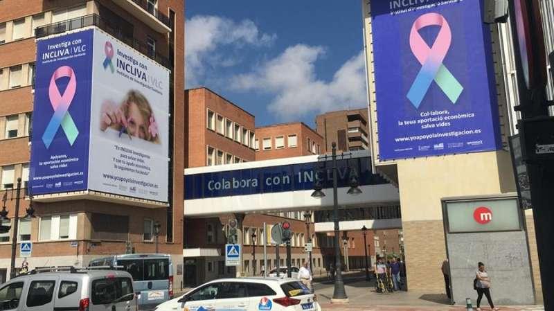 Carteles de la campaña en una imagen facilitada por el INCLIVA. EPDA