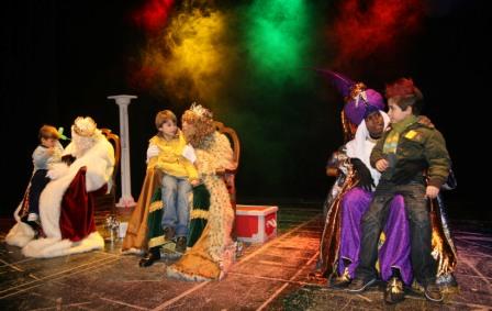 Imagen de los Reyes de archivo. FOTO: EPDA