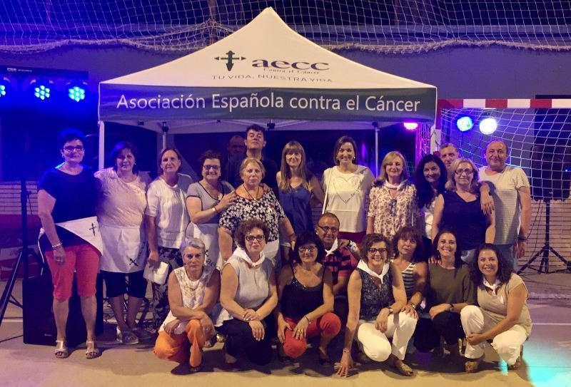 Membres de la Junta Local contra el càncer de Benissanó. EPDA