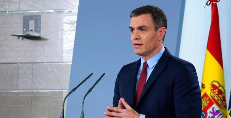Sánchez solicitará al Congreso una nueva ampliación del estado de alarma hasta el 26 de abril Agencia ATLAS / EFE