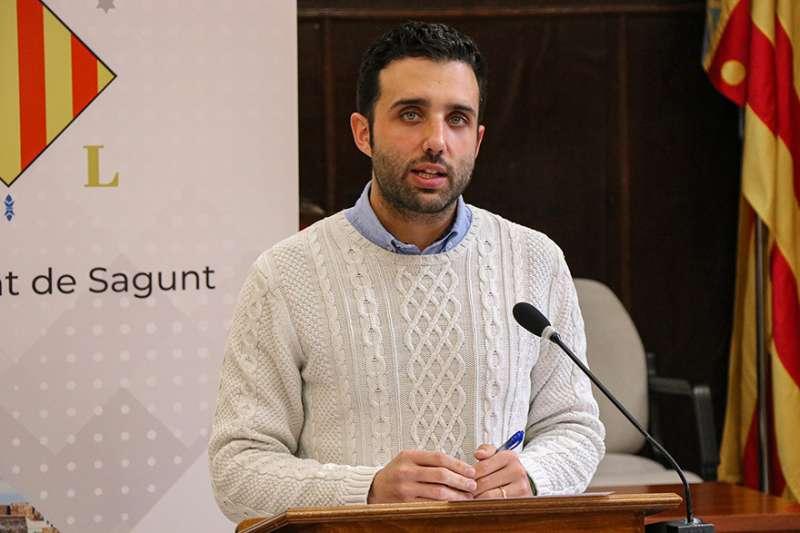 El alcalde de Sagunt, Darío Moreno. EPDA