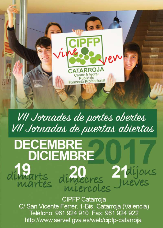Cartel del CIPFP de Catarroja. EPDA
