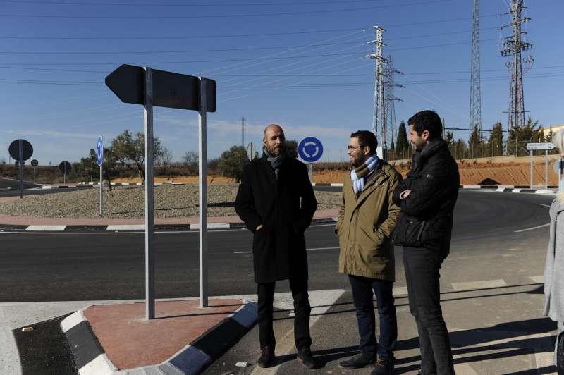 Seguí con Mario Sánchez en la visita a la rotonda del Azagador