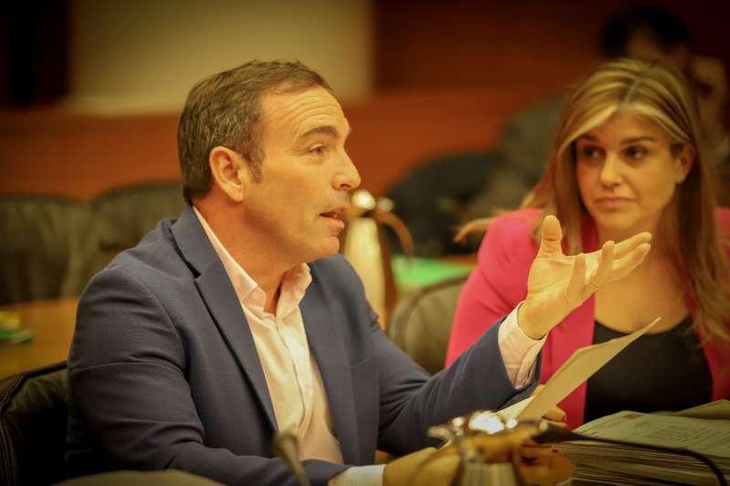 El diputado de Ciudadanos (Cs) en Les Corts Valencianes Tony Woodward