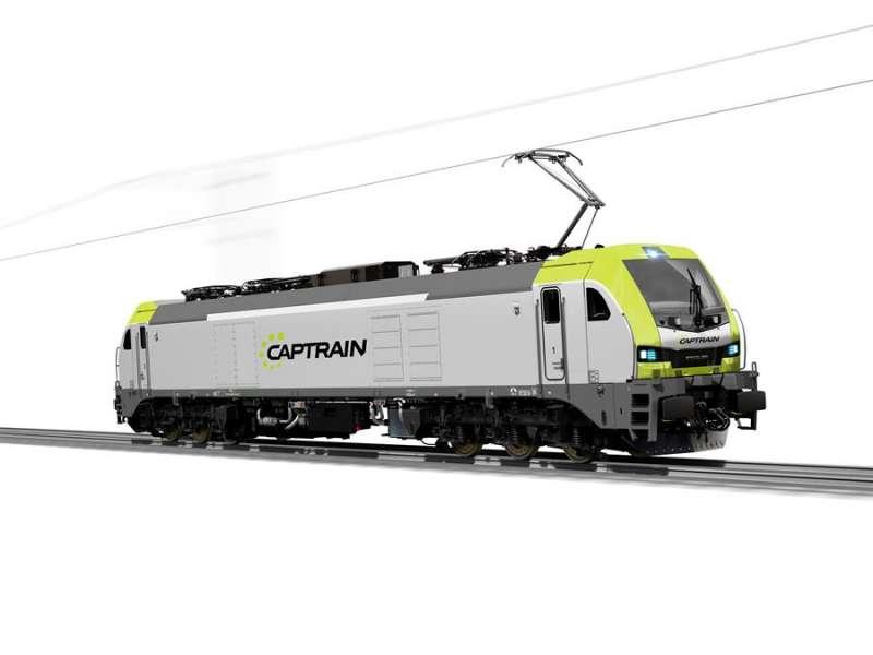 Locomotora de Captrain. EFE/Captrain España