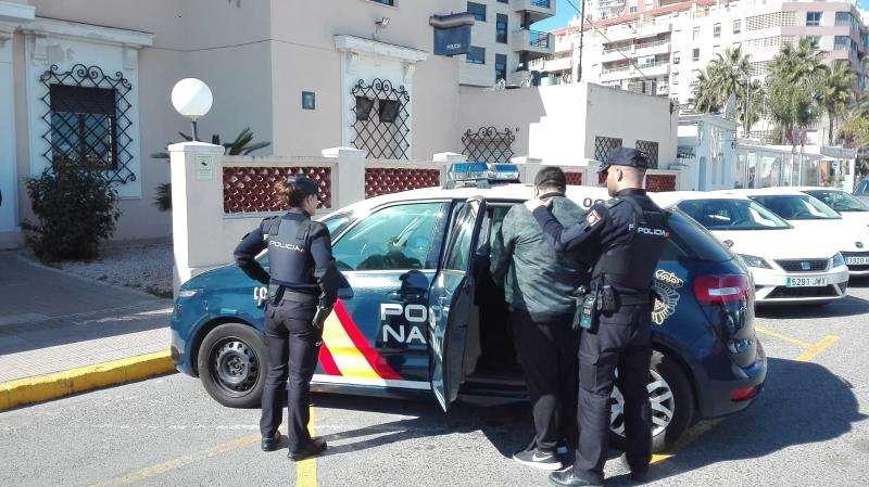 Imagen del detenido cedidas por la Policía Nacional. EFE