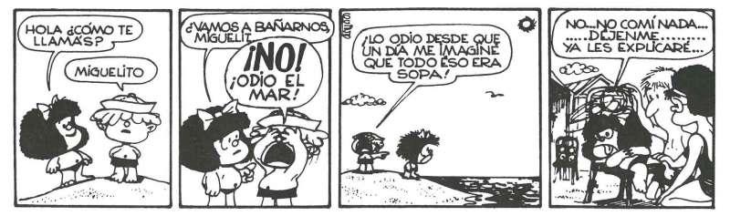 Viñeta de Mafalda. EFE
