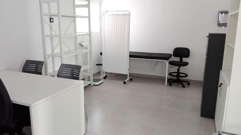 El nuevo consultorio está completamente equipado. EPDA.