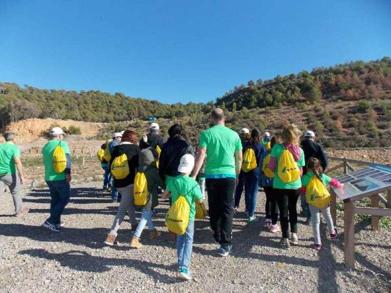 Visita a la cantera de LafargeHolcim en la montaña de Romeu de Sagunt. EPDA