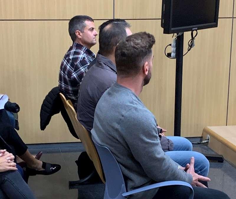 Banquillo de los acusados en un momento del juicio, celebrado hoy. EFE/Quico Tomás y Valiente