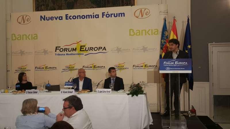 Intervención de Colomer en el Fórum Dénia. EPDA