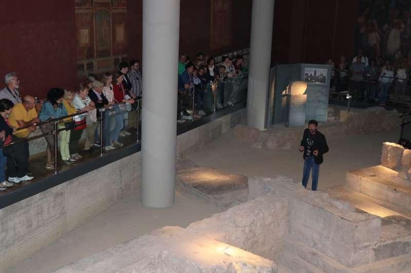 Visita Mausoleos Romanos. / epda