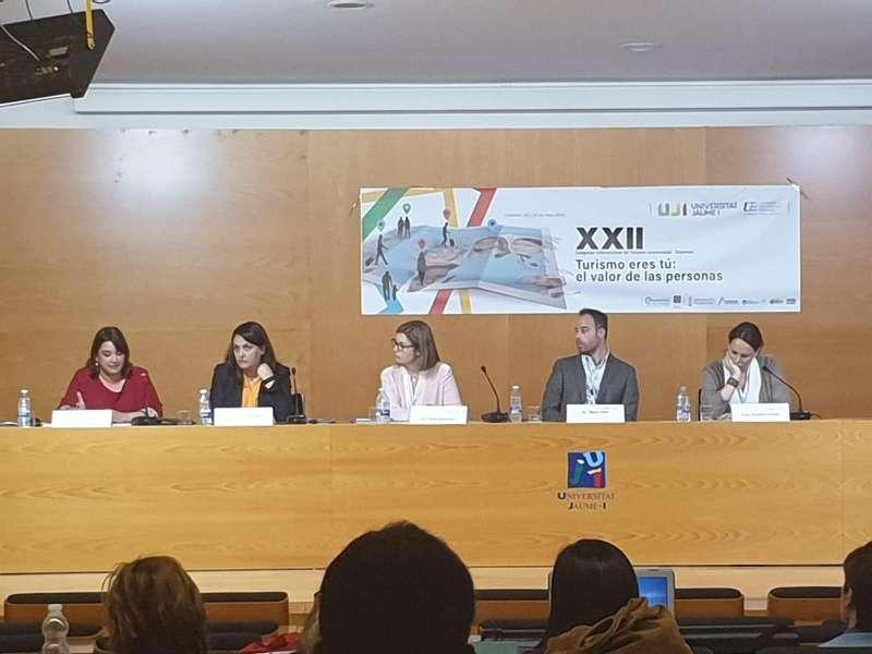 Antonino en el XXII Congreso Internacional de Turismo Universidad-Empresa de la UJI. EPDA