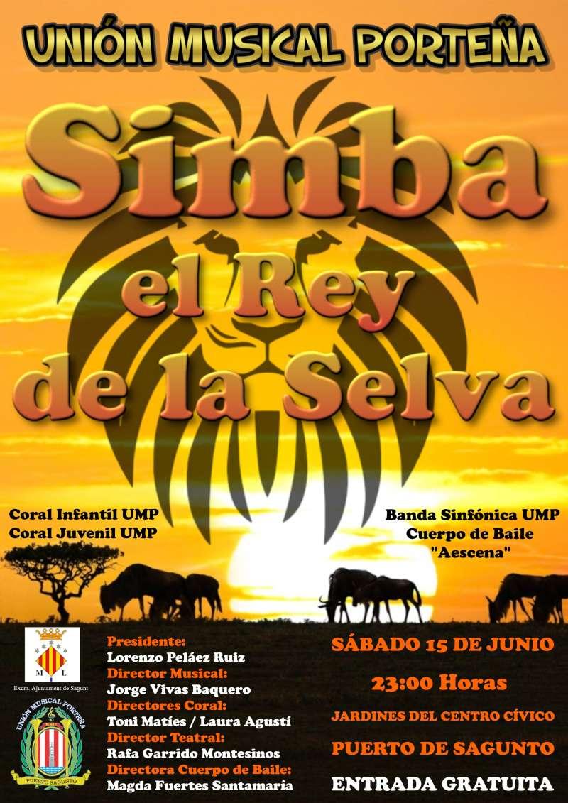 Cartel Simba el Rey de la Selva, Unión Musical Porteña -EPDA