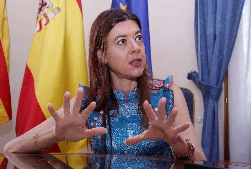 La Consellera de Innovación,Universidades, Ciencia y Sociedad Digital, Carolina Pascual. EFE