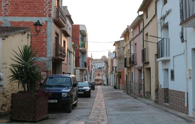Caudiel, zona baja del casco urbano