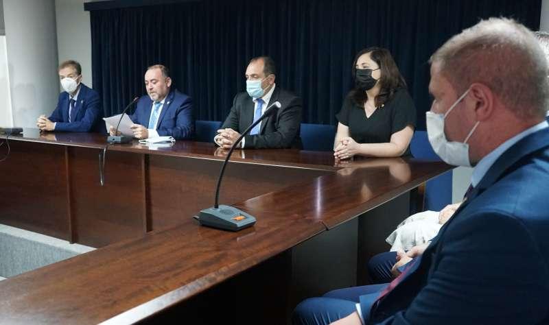 Equipo de Gobierno de Sant Joan de Moró presidido por el alcalde, Vicente Pallarés/EPDA