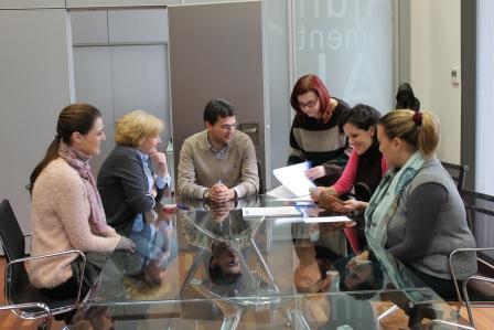 Firma del convenio entre el Ayuntamiento de Alfafar y el Colegio de Dietistas y Nutricionistas de la CV.