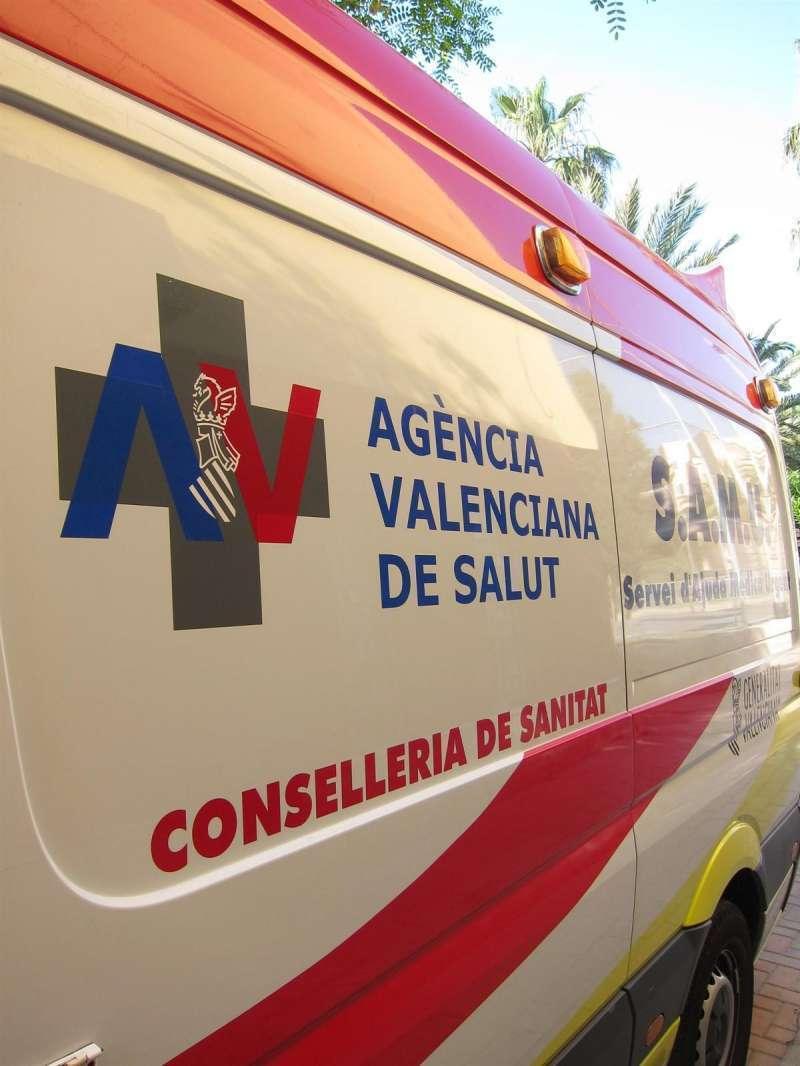 Ambulancia de la SAMU. EPDA