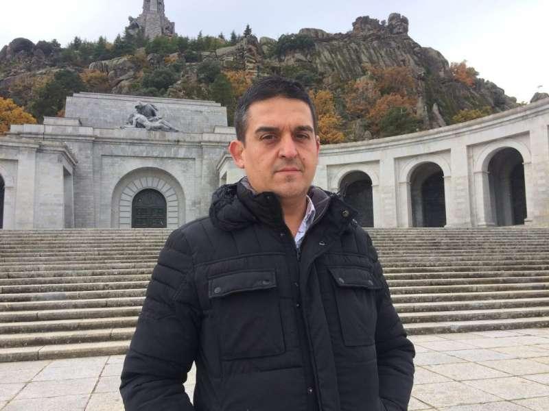 Mulet al Valle de los Caídos.
