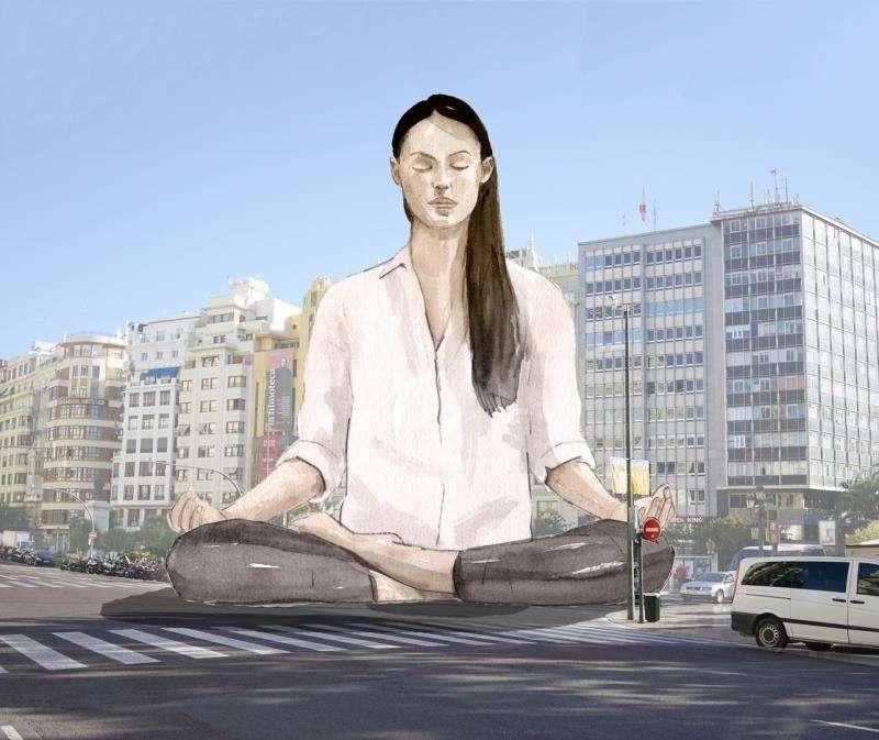 Imagen virtual de la falla municipal de 2020. Foto cedida por el Ayuntamiento de València