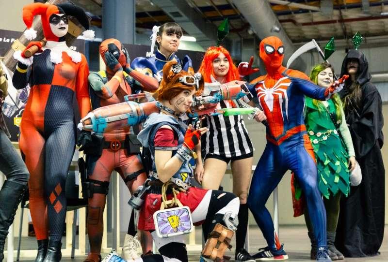 Disfraces en la Comic Con de València